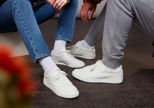 5ddf69df79c Sneakersnstuff And Reebok Are Dropping A Luxe Edition Of The Club C This  Weekend