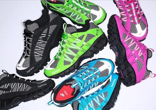 The Supreme x Nike Air Humara Releases On Nike.com
