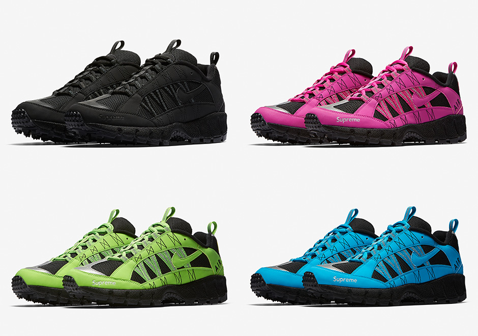 timeless design bcff1 2ea34 Supreme And Nike Releasing Four Colorways Of The Air Humara  17