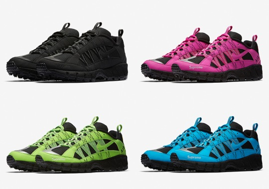 Supreme And Nike Releasing Four Colorways Of The Air Humara '17