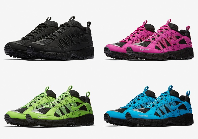 finest selection 65873 89fb0 Supreme And Nike Releasing Four Colorways Of The Air Humara  17. October  16, 2017 by Sneaker News