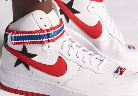 Riccardo Tisci And NikeLab To Release Two Air Force 1 High Collaborations Inspired By The NBA