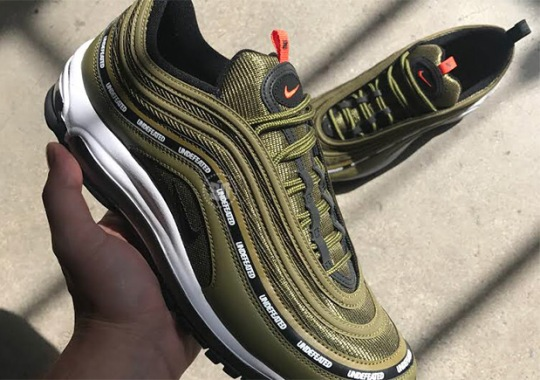 "Undefeated Revives ""Flight Jacket"" In Third Nike Air Max 97 Collaboration"