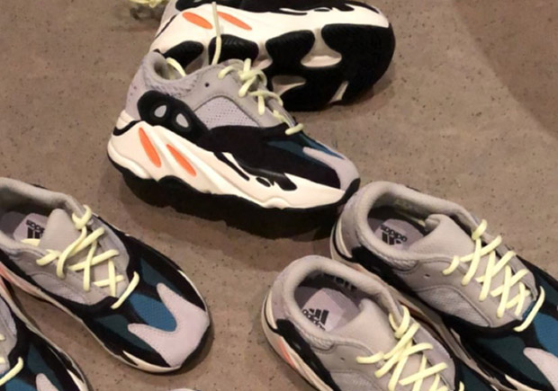 fb72bc71c9bce Kim Kardashian Reveals Kids Sizes Of adidas YEEZY Boost 700 Runner