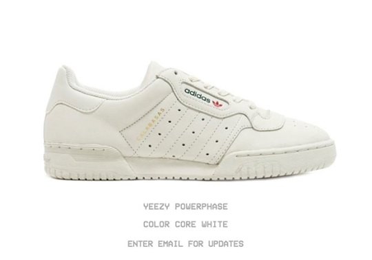 adidas YEEZY Powerphase Restocking This Weekend