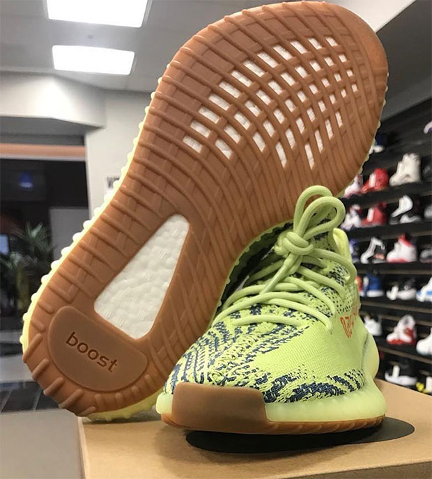 02af0479b5bf1 adidas Yeezy Boost 350 v2 Semi Frozen Yellow Release Date  November 18th