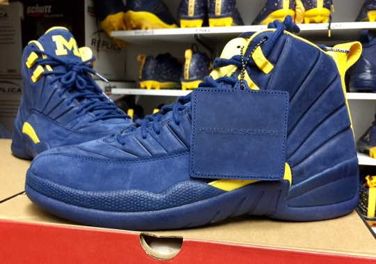 PSNY Creates Air Jordan 12 PEs For Michigan