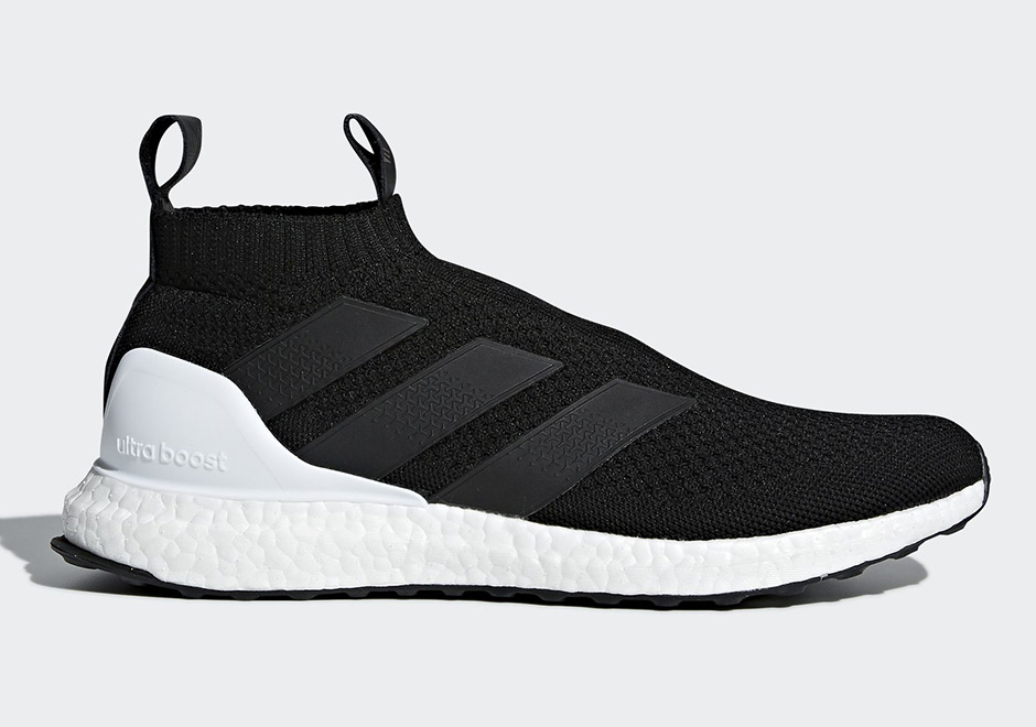 finest selection bb369 1abca adidas ACE16+ Ultra Boost Release Date  December 17, 2017. AVAILABLE AT  adidas  200. Color  Running White Running White Running White Style Code   AC7750