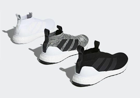 online retailer cf6ec d07eb Three New Colorways Of The adidas ACE16+ Ultra Boost Release On Friday