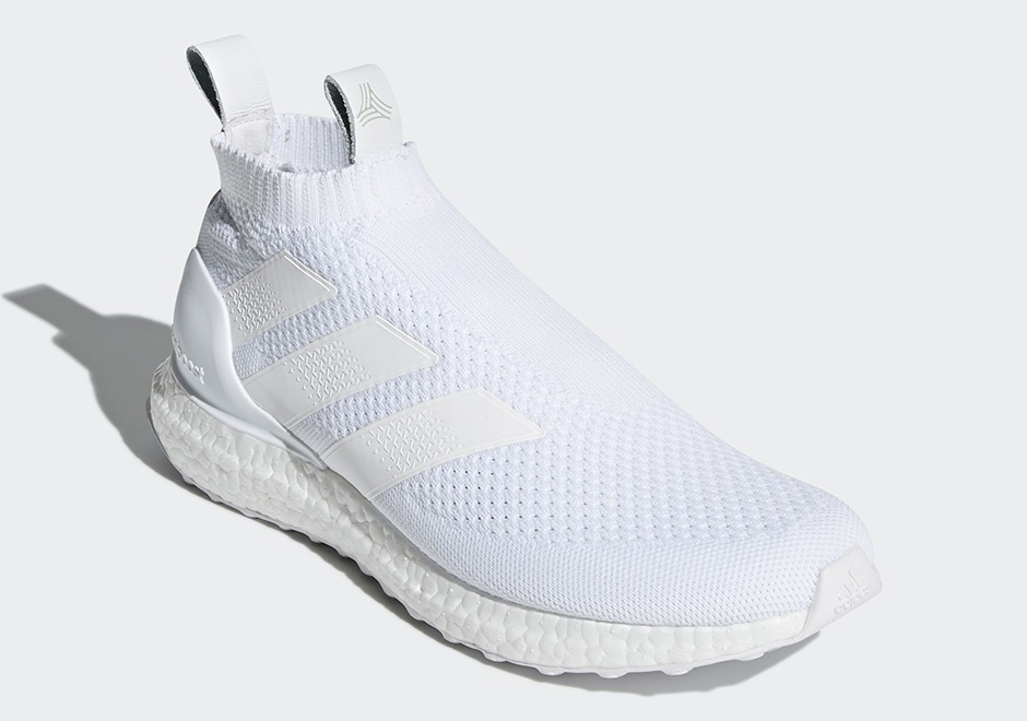new product 87cdc 724fa adidas ACE16+ Ultra Boost Release Date December 17, 2017. AVAILABLE AT  adidas 200. Color MULTI