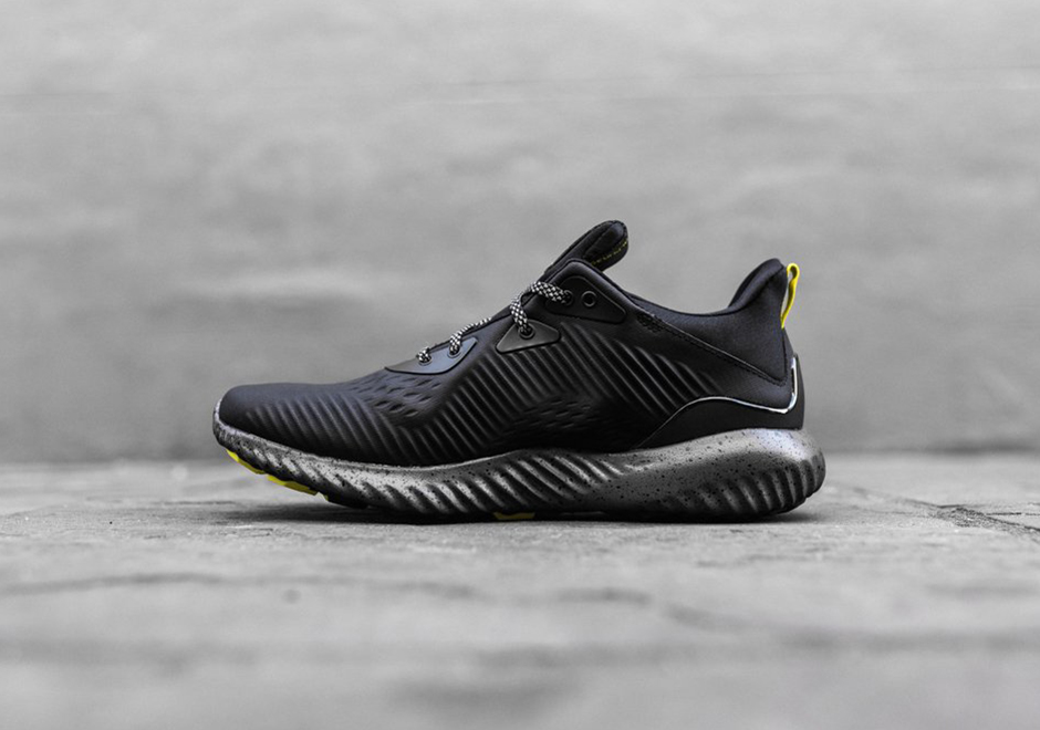 buy popular a1912 21922 adidas is beefing up the Alphabounce silhouette with the release of a new  Alphabounce All Terrain in a black and yellow colorway. The new adidas  Alphabounce ...