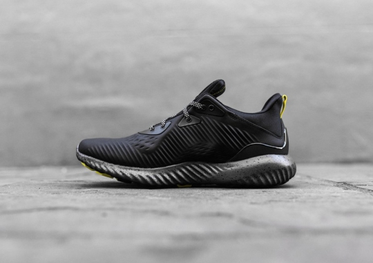 adidas Alphabounce Releases In Black And Yellow