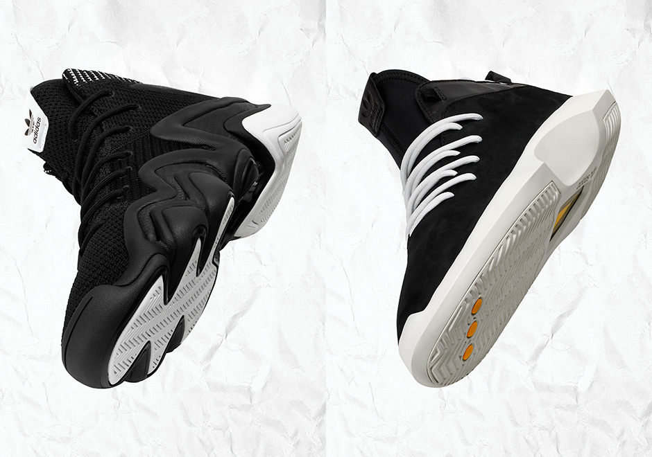 adidas continues to extended the of lifespan of its mid-1990s basketball  shoe icons with the restructured and modernized Crazy 8 ADV and Crazy 1 ADV. 8a14abe8d