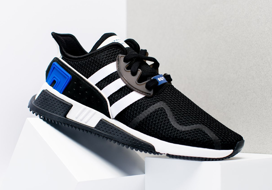 adidas EQT Cushion ADV Black and Royal CQ2374 First Look ... 8bb819d58665