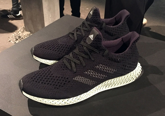 adidas Futurecraft 4D Named One Of Best Inventions Of 2017