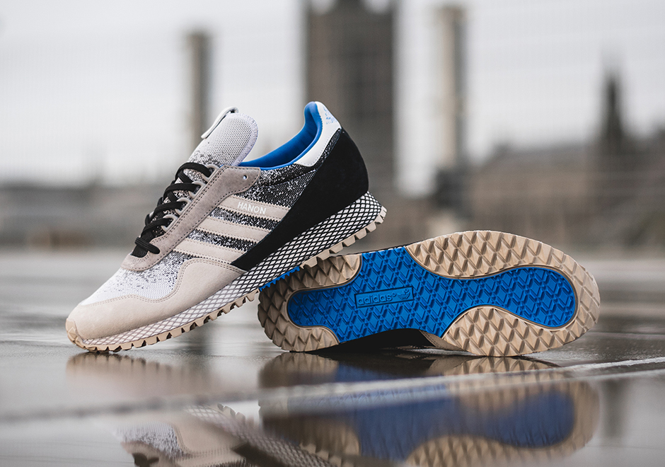 Adidas Consortium is collaborating with Aberdeen-based retailer Hanon to  create a shoe inspired by the ever-changing Scottish weather.