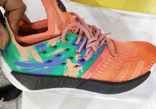 Closer Look At James Harden's adidas BOOST Basketball Shoe