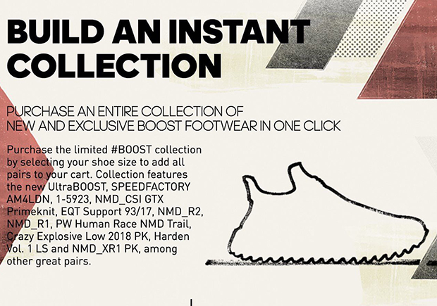 "The $7,000 adidas ""Instant Boost Collection"" Sold In Five Minutes"