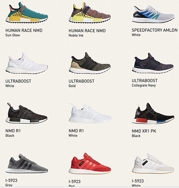 adidas Instant Boost Collection Sold