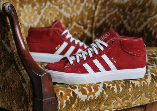Marc Johnson Gets New Red adidas Matchcourt Mid Colorway