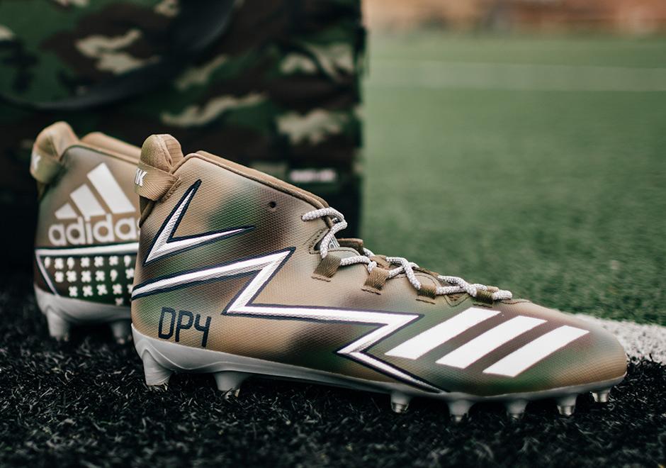 Falange probable Habitual  adidas Unveils NFL Custom Cleat