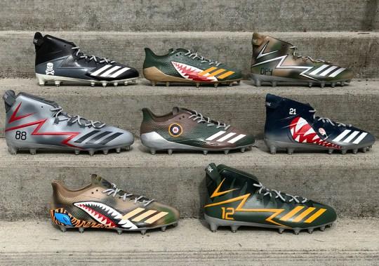 "adidas Unveils NFL Custom Cleat ""Squadron Pack"""