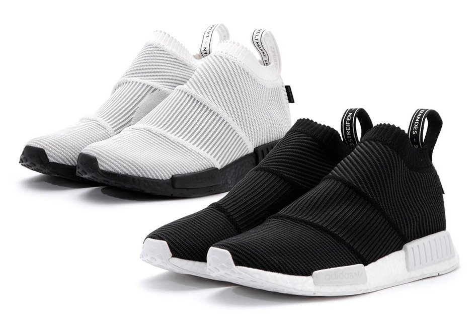 Can t resist wearing your NMDs in the winter  adidas Originals is dropping  the lovable City Sock silhouette with the much-needed Gore-Tex layer that  acts as ... 26ab3784f066