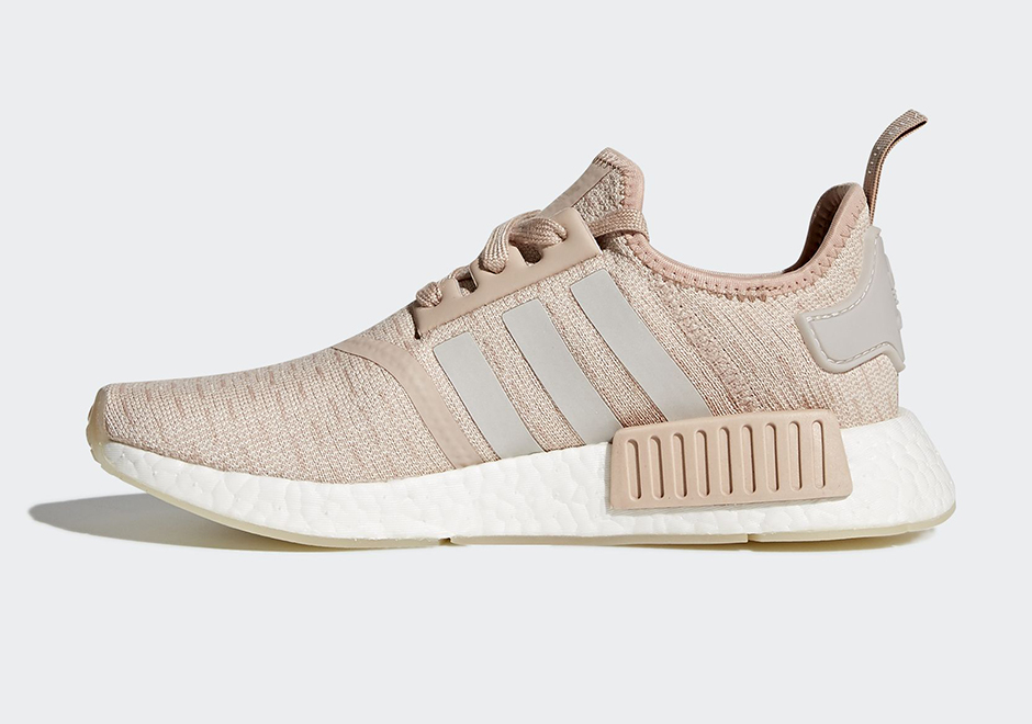 14d3b3cbd84d5 adidas NMD R1 Chalk Pearl Pack Release Details + Photos ...