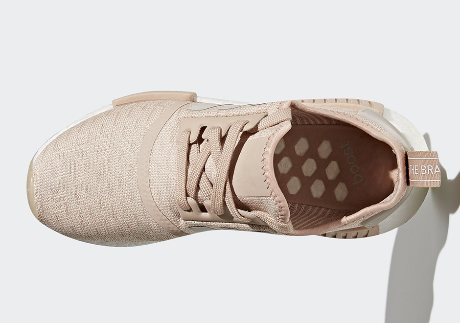 "buy online 4f719 88316 adidas NMD R1 ""Chalk Pearl Release Date  November 30th, 2017"