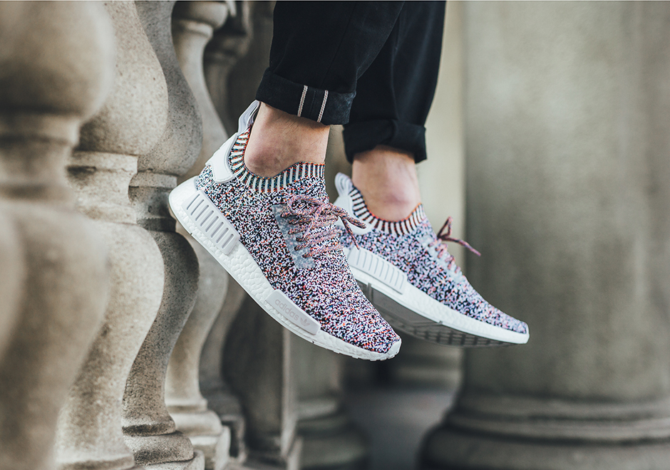 wholesale dealer 47653 e0574 adidas NMD R1 Primeknit Color Static Release Info BW1126  SneakerNews.com