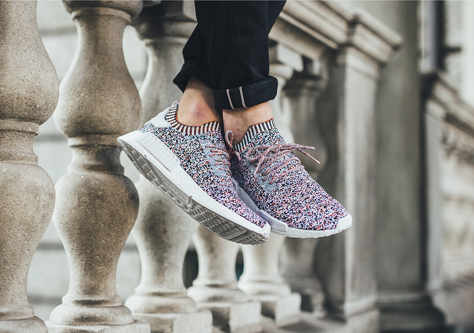 "brand new 9a98f d92b3 adidas NMD R1 ""Colour Static"" Global Release Date November 11th, 2017.  Coming soon to adidas 170. Color Core WhiteCore WhiteCore White"