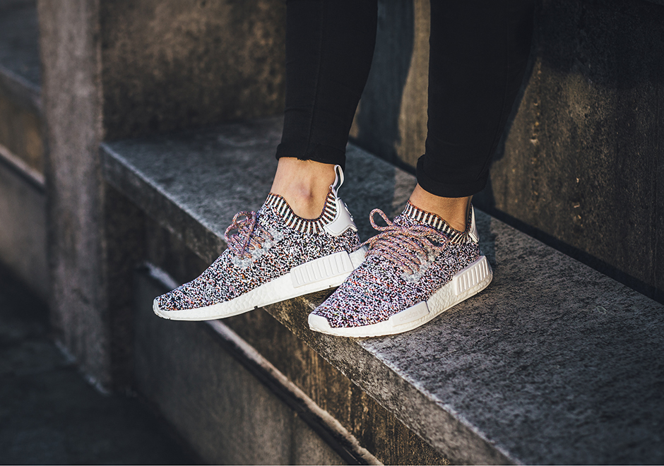 "brand new 1d807 b0040 adidas NMD R1 ""Colour Static"" Global Release Date November 11th, 2017.  Coming soon to adidas 170. Color Core WhiteCore WhiteCore White"