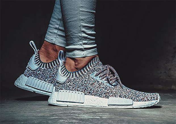 "Previously confirmed this summer as the ""Multi-Color Dot"", the ""Colour  Static"" adidas NMD R1 is back with an official release date."