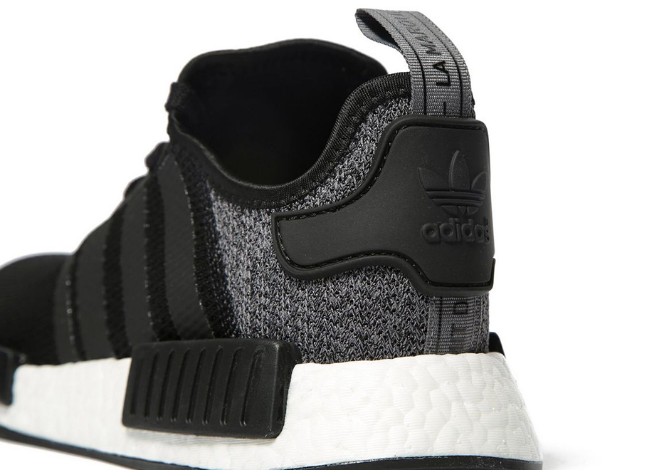 Adidas NMD R1 Glitch Pack (Core Black/Grey)