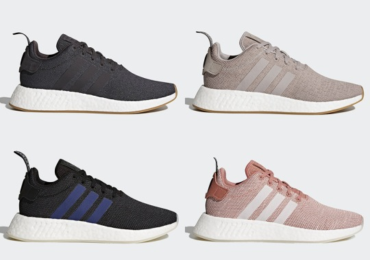 Four New adidas NMD R2 Colorways Dropping On November 30th