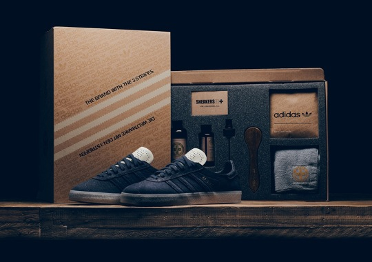 """adidas Originals Releases A """"Crafted"""" Gazelle With Fully Loaded Packaging"""