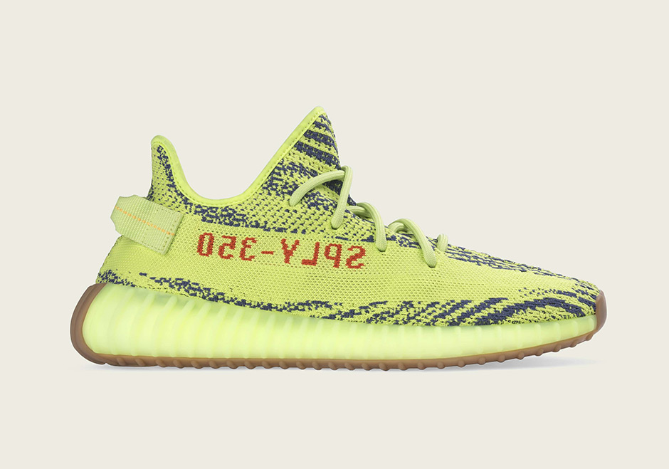 "Official Images Of The adidas YEEZY Boost 350 v2 ""Semi Frozen Yellow"""