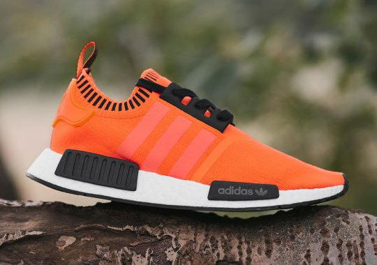 "adidas NMD R1 Primeknit ""Orange Noise"" Releasing Exclusively At Size?"