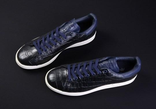 Japan's Kicks Lab To Drop Two Croc-Skin adidas Stan Smiths