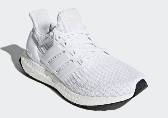 "Detailed Look At The adidas Ultra Boost 4.0 ""Core White"""