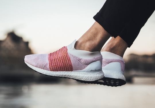 "adidas Ultra Boost Laceless ""Trace Scarlet"""