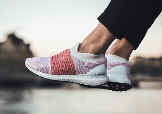"""adidas Ultra Boost Laceless """"Trace Scarlet"""""""