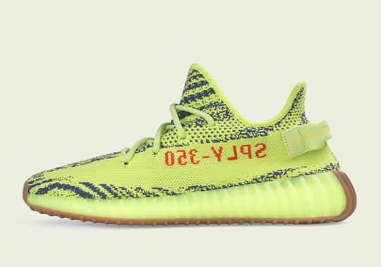 "Official Store List For The adidas Yeezy Boost 350 v2 ""Semi Frozen Yellow"""