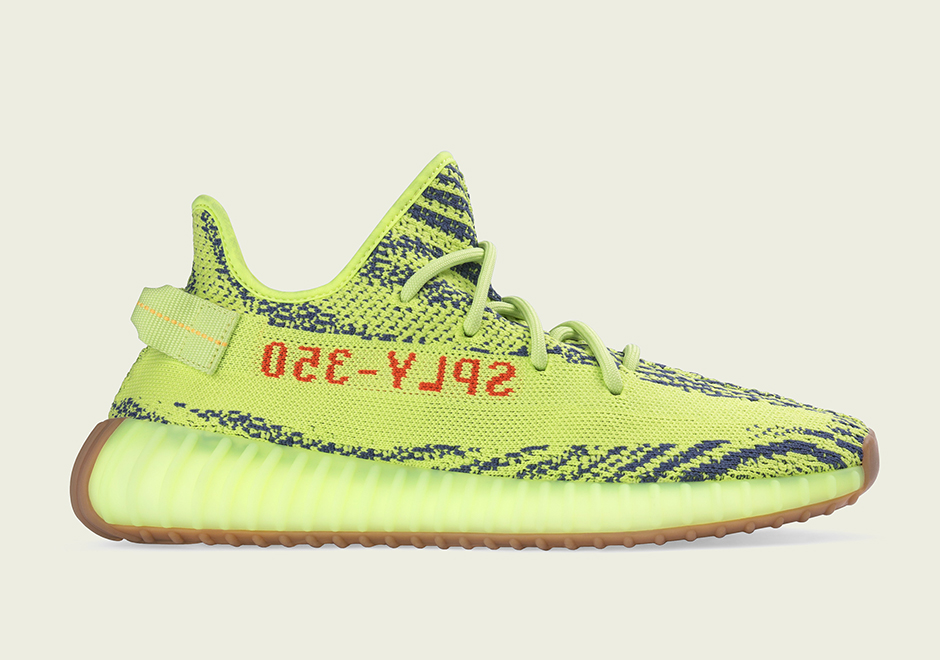 "209ed83108f adidas has just announced the official store list for the upcoming adidas  Yeezy Boost 350 v2 ""Semi Frozen Yellow"""