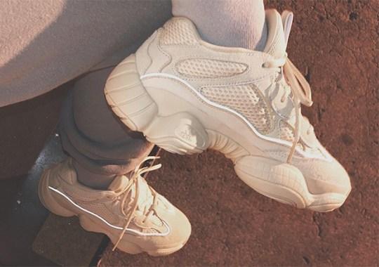adidas YEEZY Mud Rat 500 In White Revealed