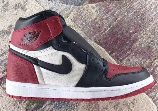 "Jordan Brand Combines The ""Black Toe"" With ""Bred"" On The Air Jordan 1"