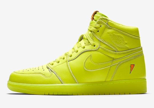 """Air Jordan 1 """"Gatorade"""" Appears In Lemon Lime """"Cyber"""" eef280b9c"""