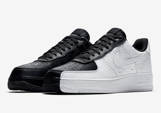 """Nike Air Force 1 Low """"Split"""" Resembles The """"Scarface"""" Of 2006"""