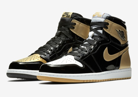 "The Air Jordan 1 Top 3 ""Black/Gold"" Releases On Black Friday"