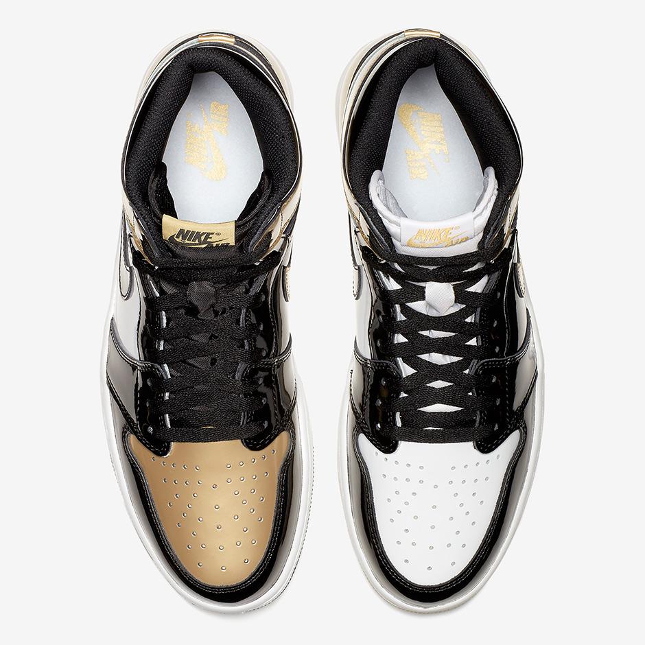 """30177062f07c Air Jordan 1 Top 3 """"Black Gold"""" Release Date  November 27th"""